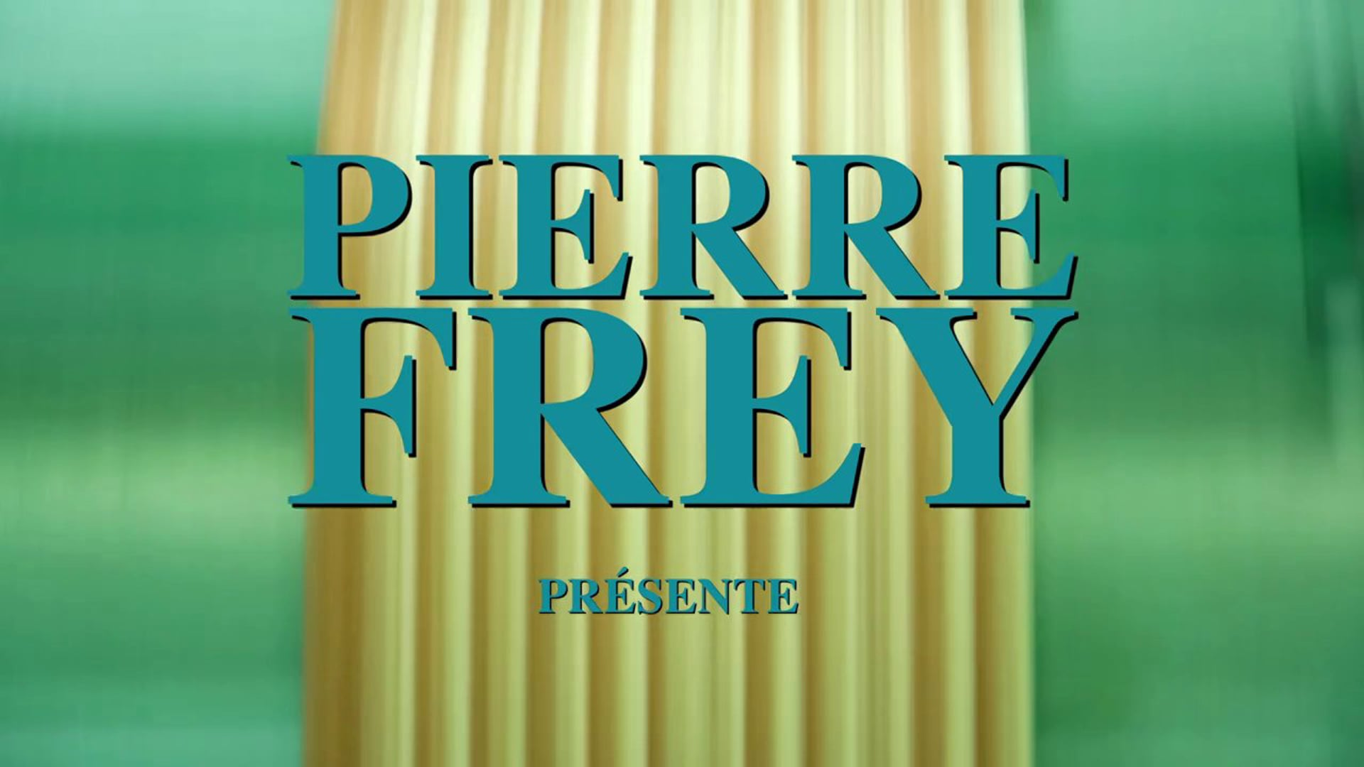 PIERRE FREY · Présentation Made in France