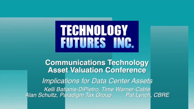 Panel 1 - Implications for Data Center Assets