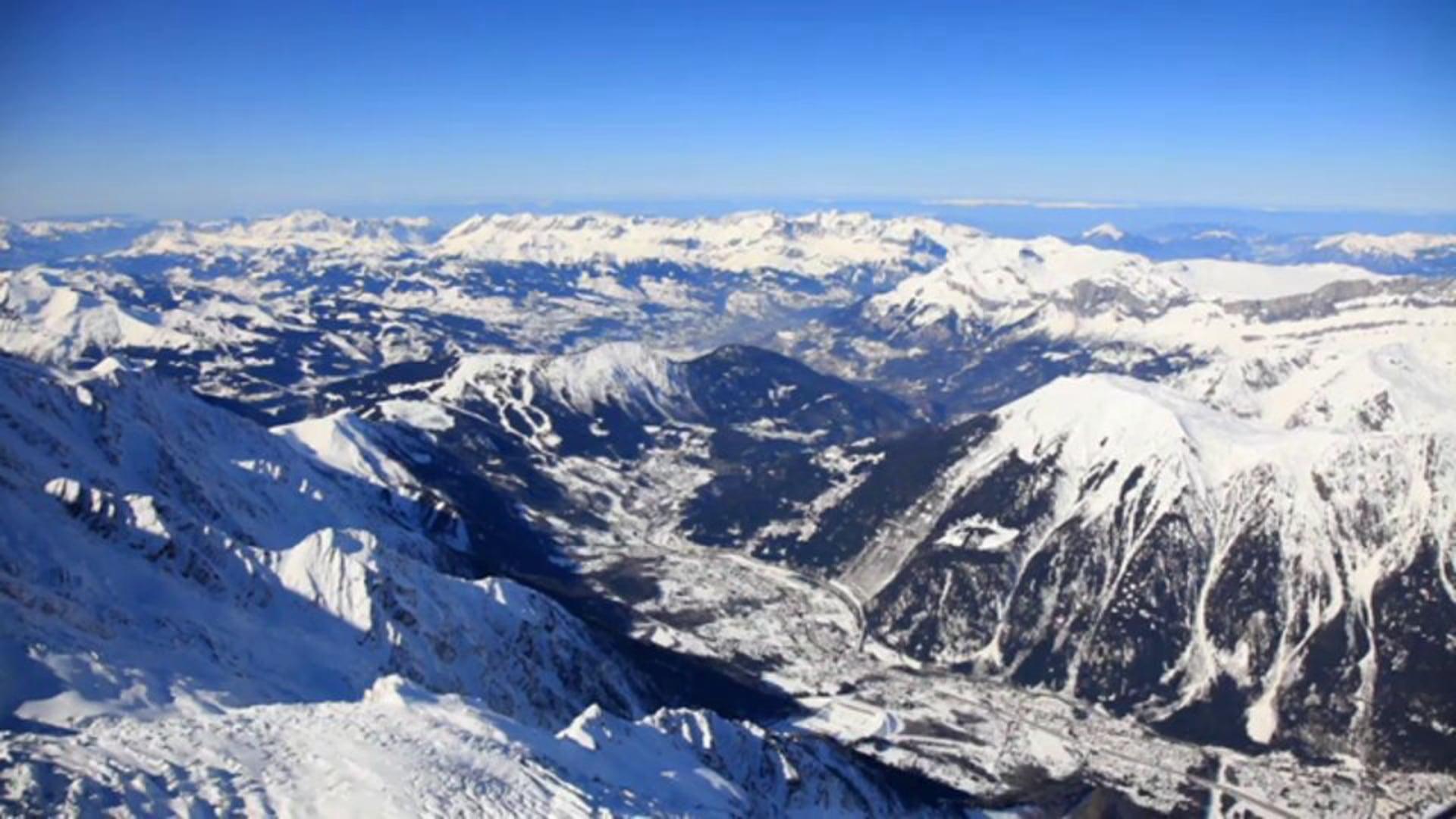 Haute-Savoie – Chamonix, la Vallée Blanche – Benjamin