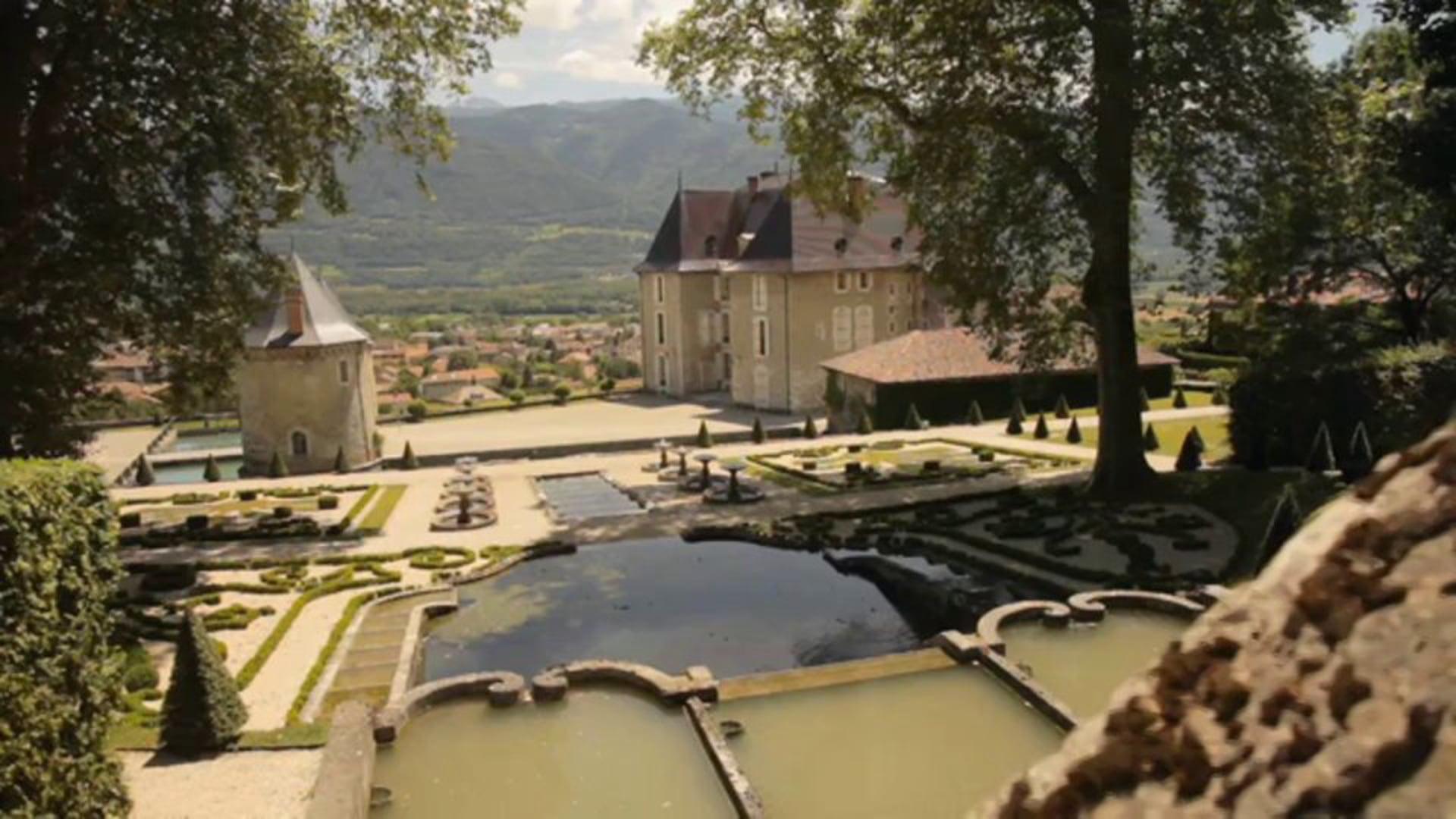 Isère – Jardins et Château du Touvet – Sabrina