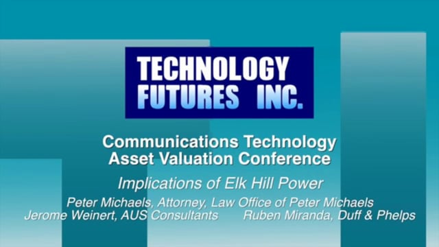 Panel 2 - Implications of Elk Hills Power