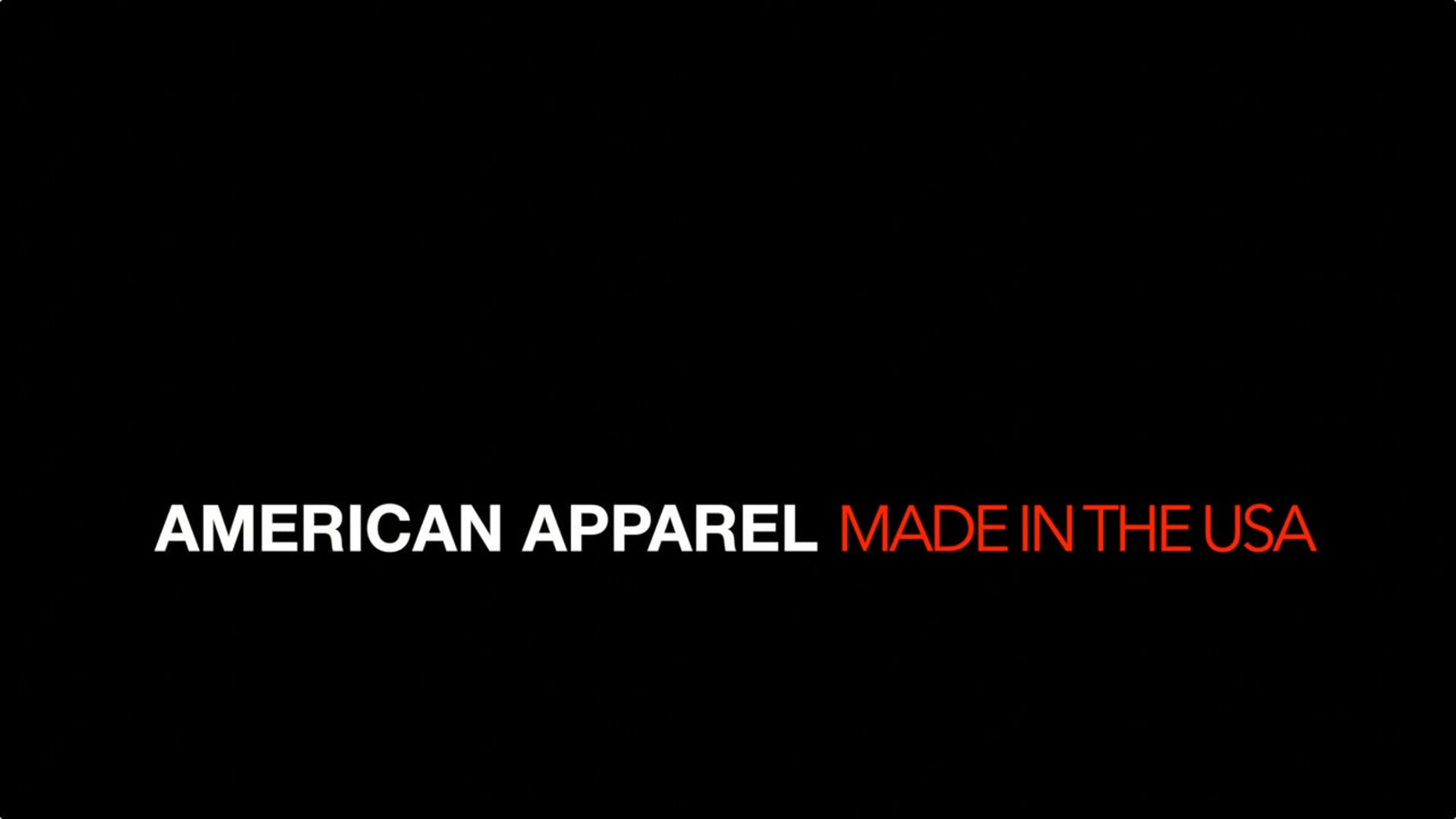 American Apparel | Branded Content