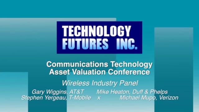 Panel 5 - Wireless Industry Panel
