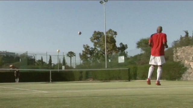 Foot Tennis - Alex Nicholson