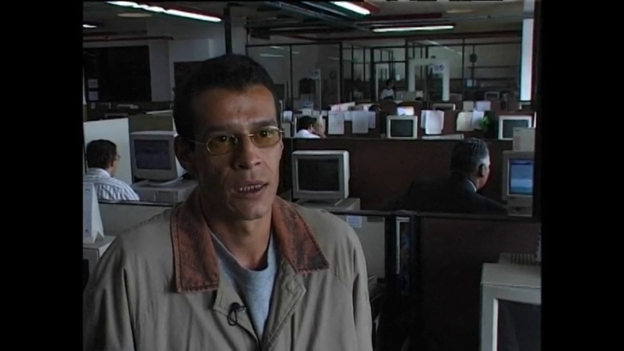 Ignacio Gomez. Journalist about killed colleagues in Colombia
