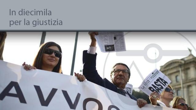In diecimila per la giustizia - 21/2/2014