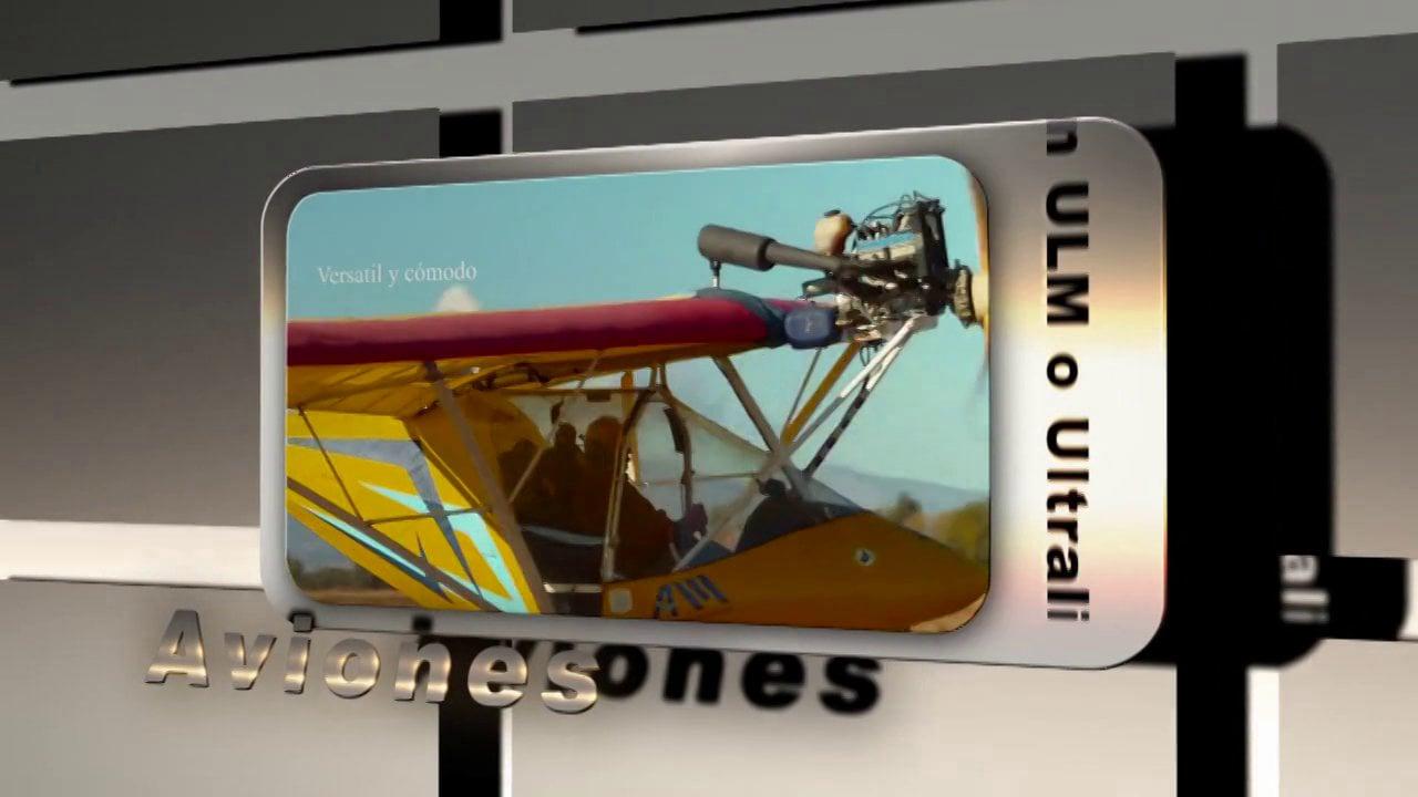 Presentacion de Aviacion ULM o Ultraligera
