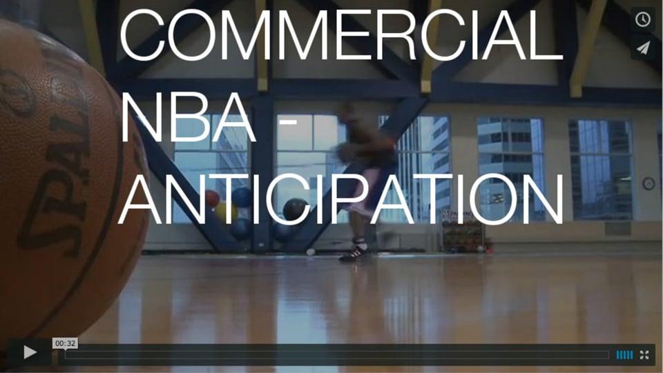 NBA - Anticipation