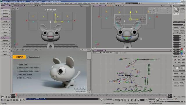 Honge Rigging | Animation
