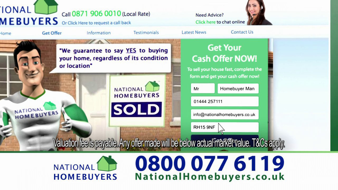 National Homebuyers TV Advert 2014
