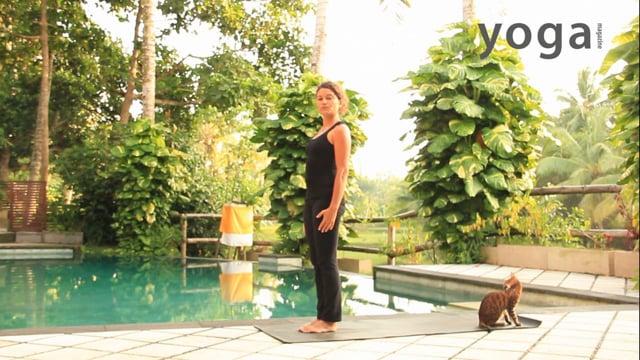 In de Ashtanga flow op Bali
