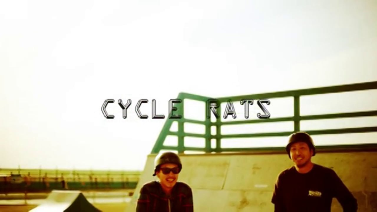 "CYCLE RATS  "" KAITO&YU""     WAVELAND  SKATE SESSION"