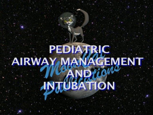 Pediatric Airway Management and Intubation