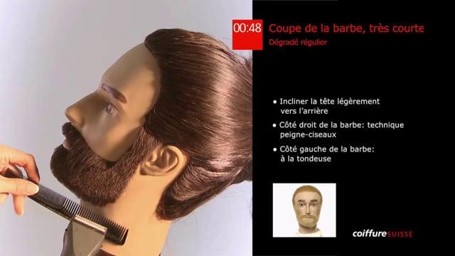 38. Coupe de la barbe (très courte)