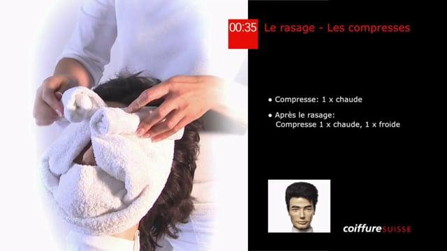 15. Le rasage (Les compresses)