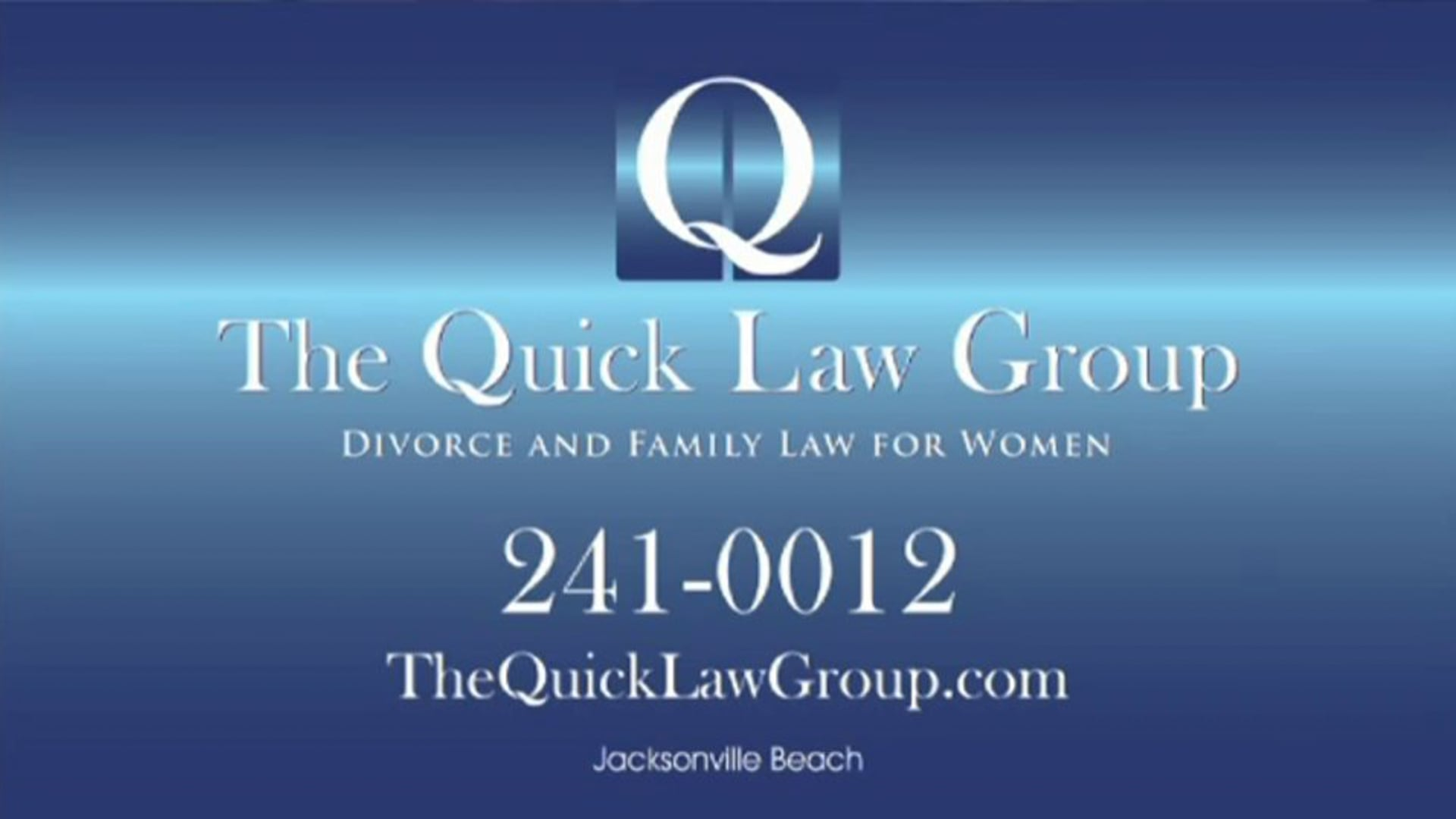 The Quick Law Group - Television Spot - 1.0