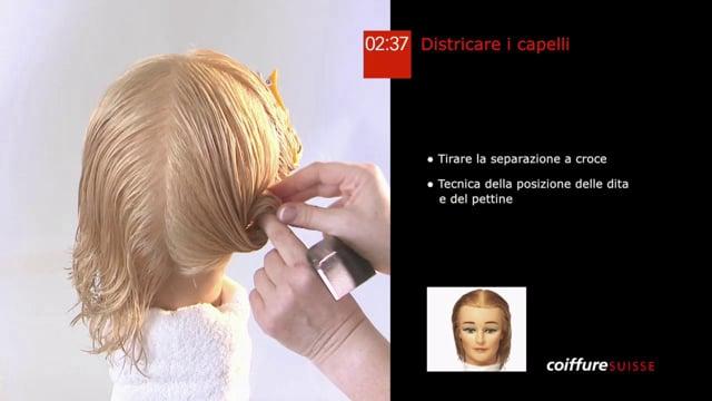 4. Districare i capelli