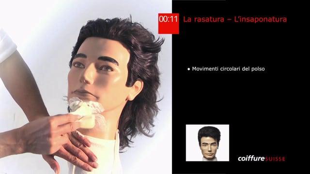 16. La rasatura (l`insaponatura)