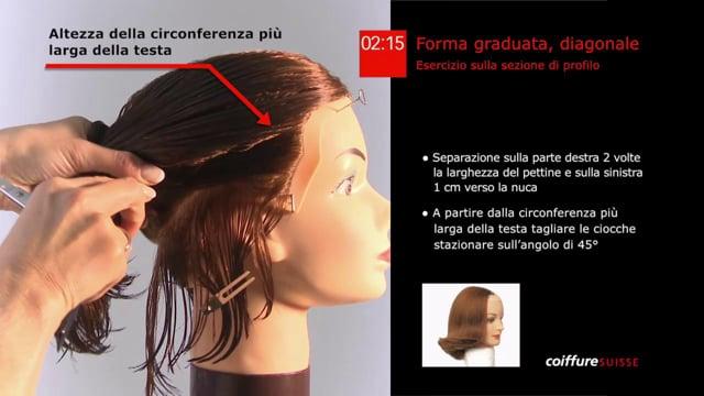 27. Forma graduata diagonale sulla sezione del profilo