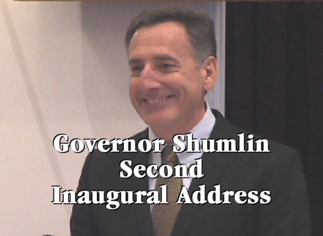 Vermont Governor Peter Shumlin Second Inaugural Address