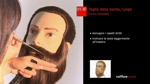 36. Taglio della barba (lunga)