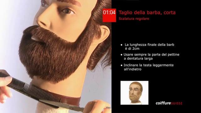 37. Taglio della barba (corta)