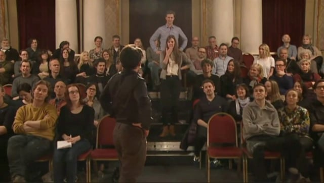 Nationalismens apostle: Vi er Norge, Nationaltheatret i Oslo
