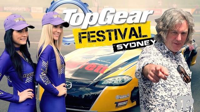 Jeremy Clarkson and Top Gear Festival Sydney Test