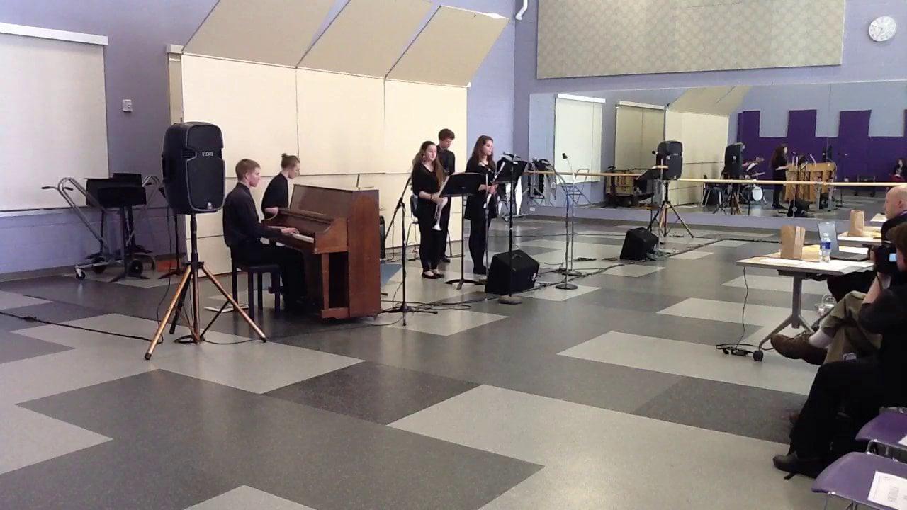 MDI HS - The Alex Dmitrieff Experience - Maine Instrumental Jazz Festival 2014