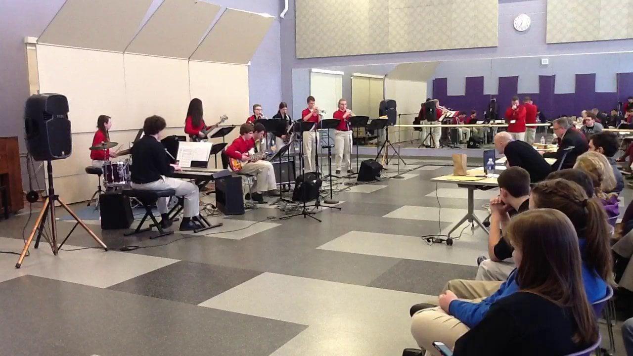South Portland HS Jazz Combo C - Maine Instrumental Jazz Festival 2014