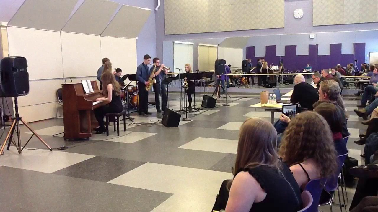 Fryeburg - 7 Steps Combo- Maine Instrumental Jazz Festival 2014