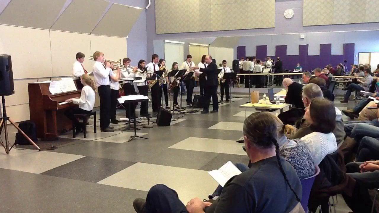 Falmouth HS Jazz Band Combo - Maine Instrumental Jazz Festival 2014