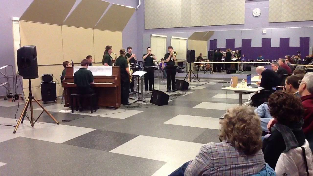 Old Town HS Combo 2 - Maine Instrumental Jazz Festival 2014