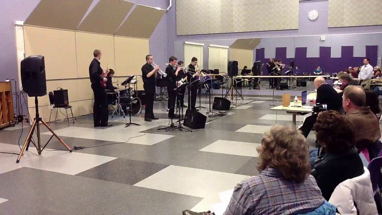 Brewer HS Combo 2 - Maine Instrumental Jazz Festival 2014