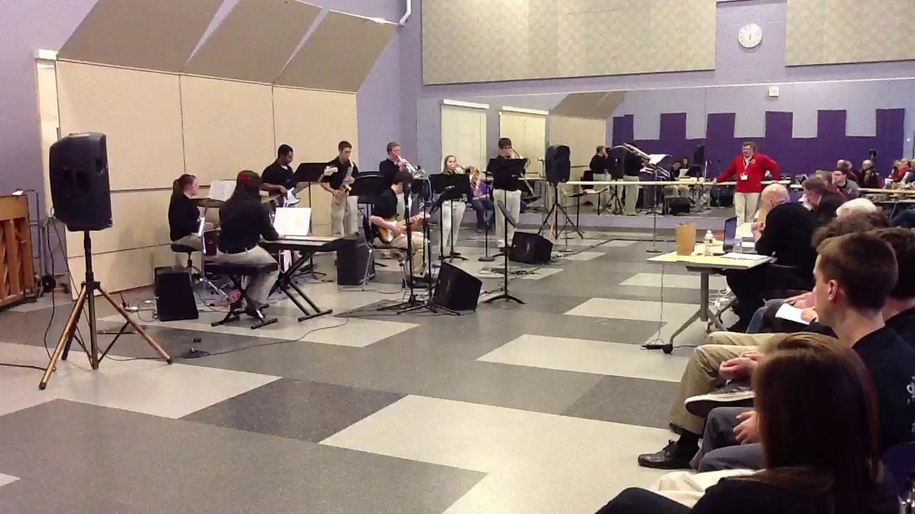 South Portland HS Jazz Combo B - Maine Instrumental Jazz Festival 2014