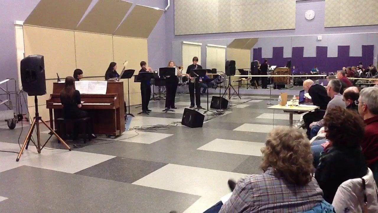 Westbrook HS Jazz Combo 2 - Maine Instrumental Jazz Festival 2014