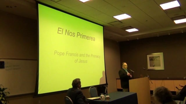 "Emanuele Colombo--""El Nos Primerea:"" Pope Francis and the Primacy of Jesus"