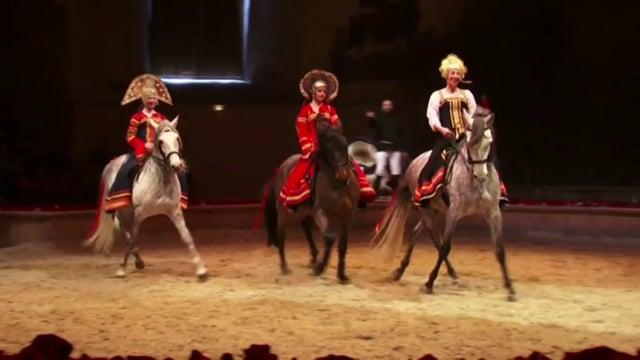 Capation spectacle : un prince-russe à Chantilly