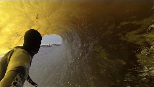 GoPro POV surfing van life in Scotland with Ian Battrick from Ian Battrick