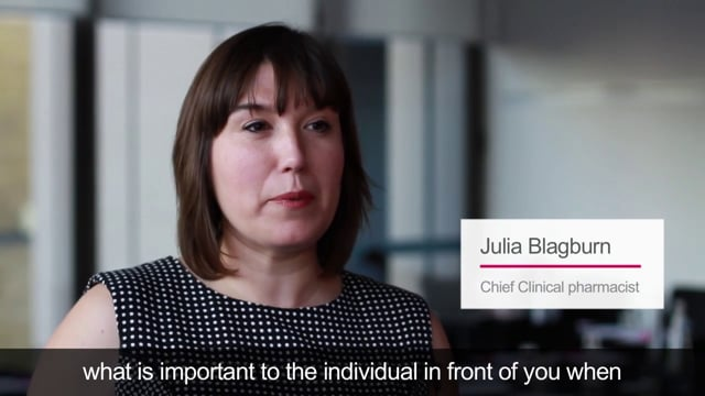 Viewpoint – Julia Blagburn talks about person-centred care