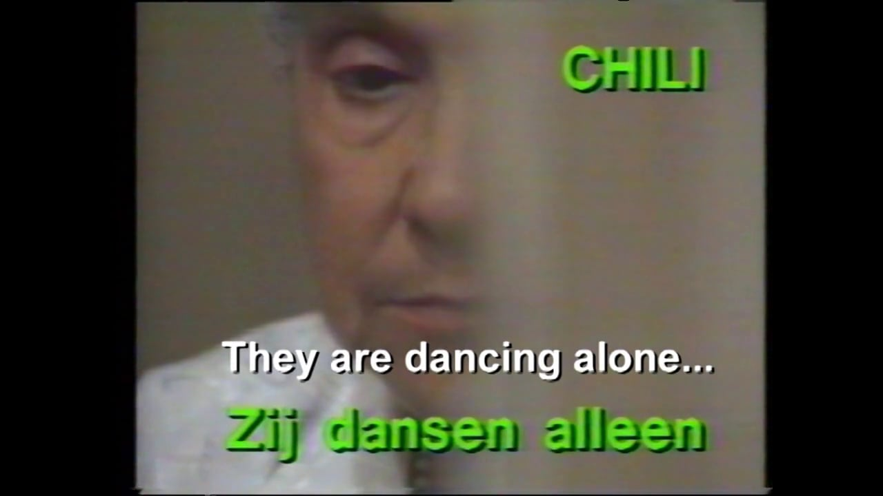 Chile 1989   They are dancing alone  !!!      25  minutes story