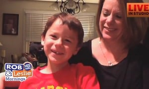 Skype with MaryBeth and Lucas