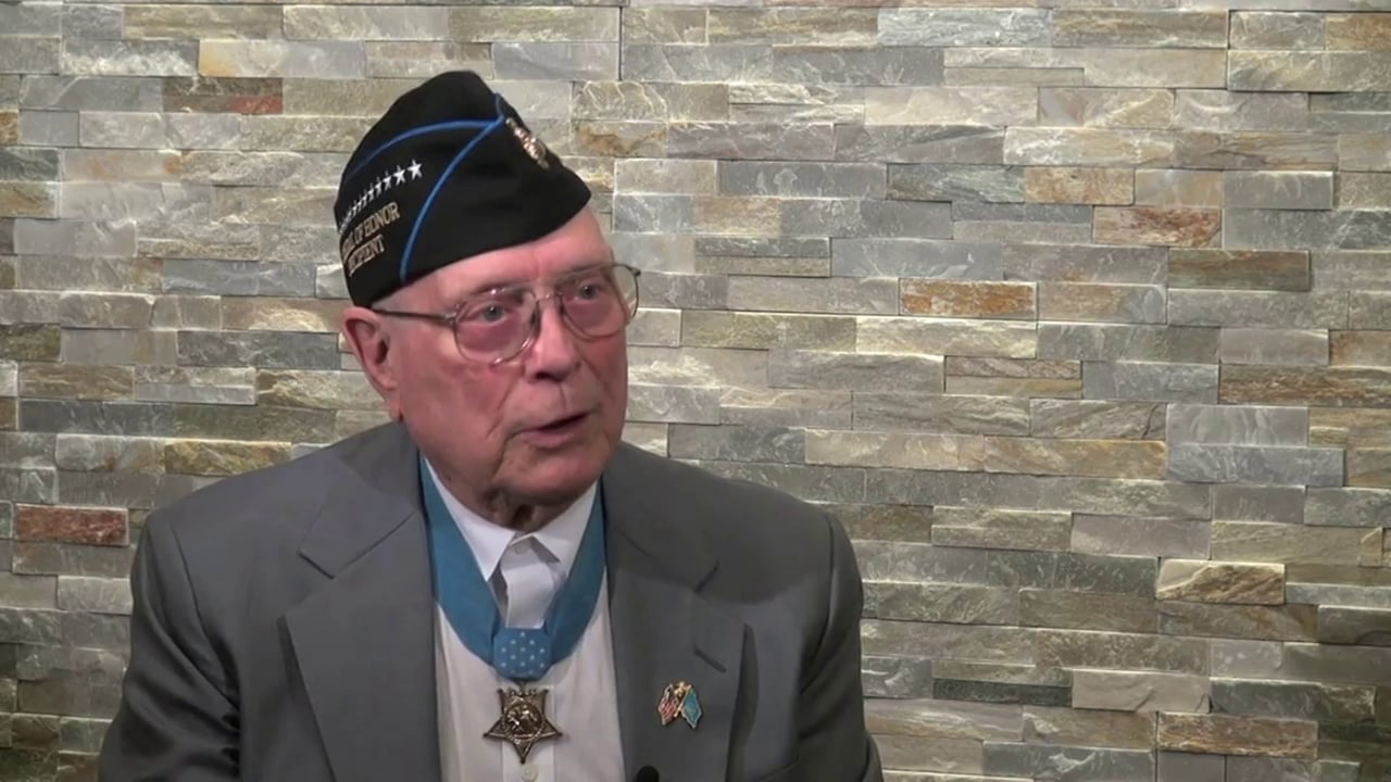 """Interview with World War II Medal of Honor recipient Hershel """"Woody"""" Williams"""