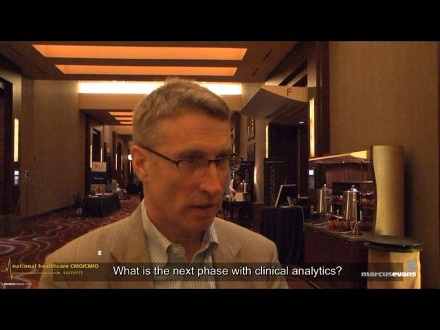 National Healthcare CMO/CMIO Summit - Interview: Harm Scherpbier, Main Line Health