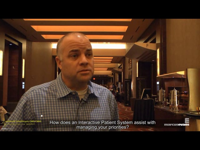 National Healthcare CMO/CMIO Summit - Interview: Kevin Meek, OASIS Hospital