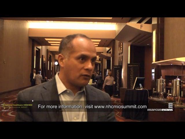 National Healthcare CMO/CMIO Summit - Interview: Roger Panduro, Alere Analytics