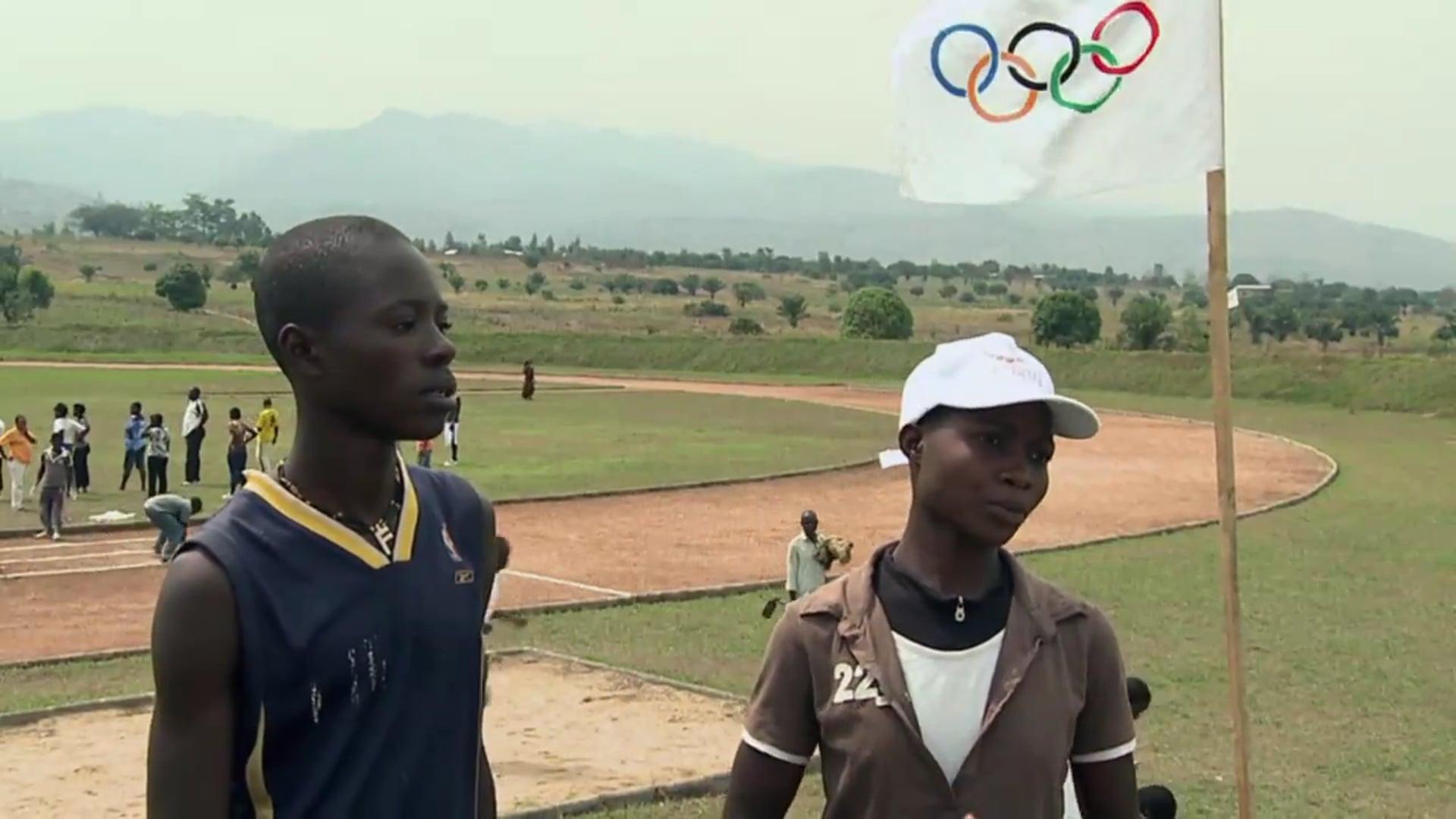 Olympafrica: speaking sport, building peace