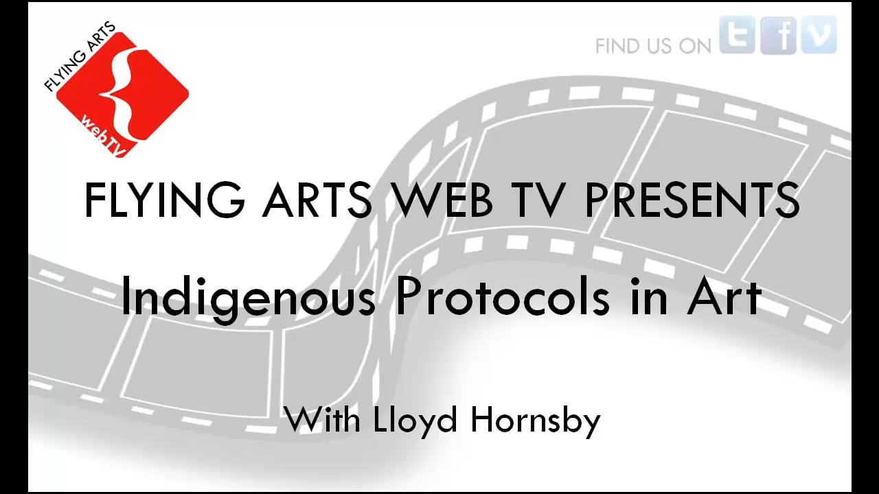 Indigenous Protocols in Art with Lloyd Hornsby