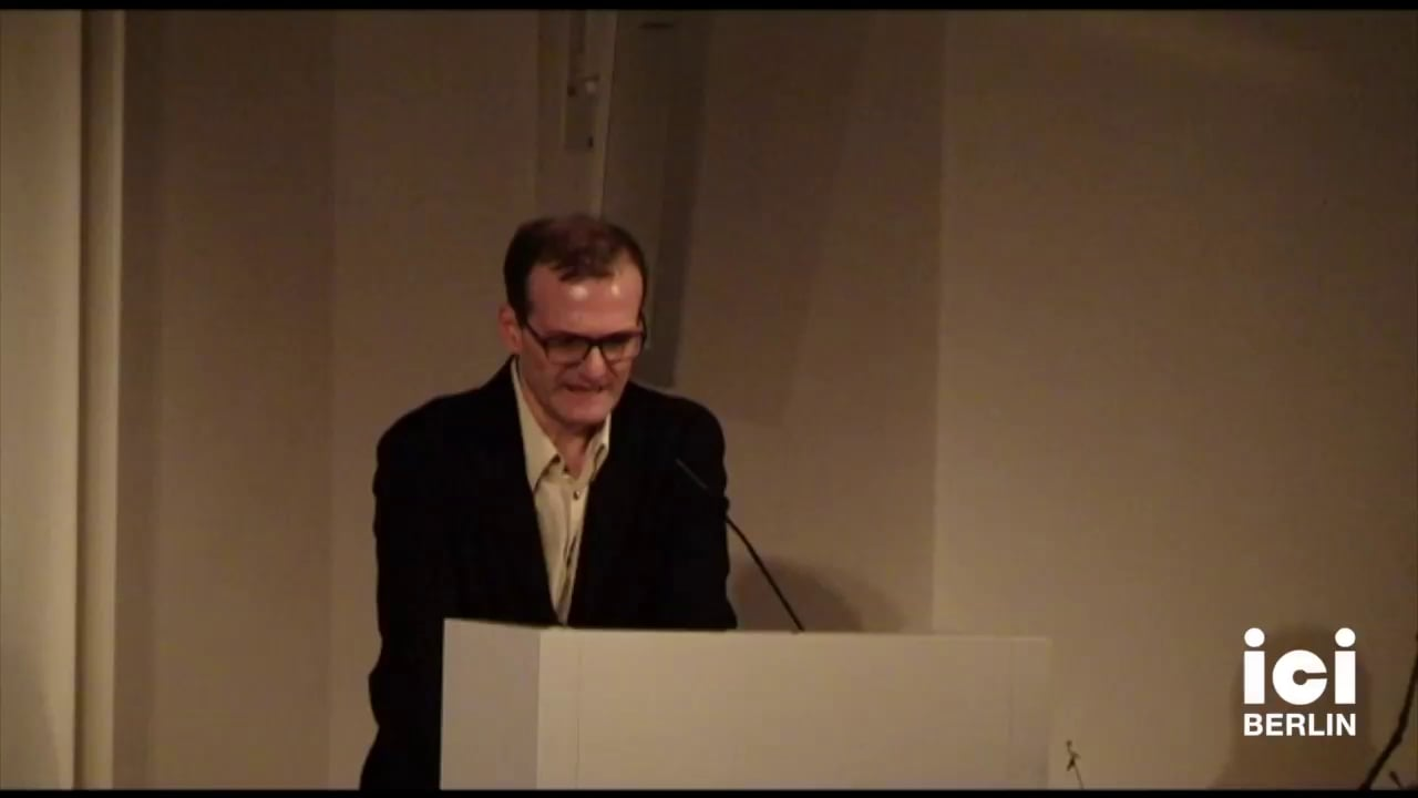 Introduction by Manuele Gragnolati [1]