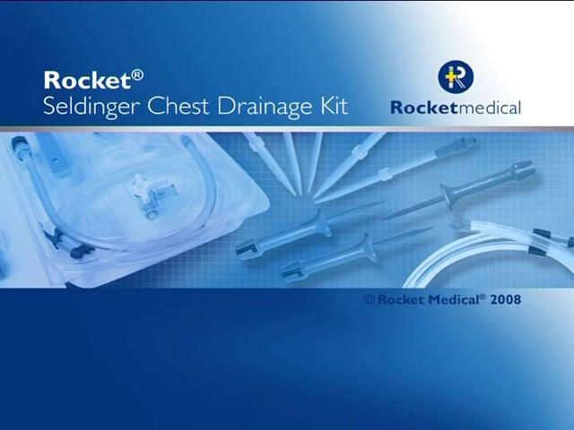 Inserting Rocket® Seldinger Chest Drains